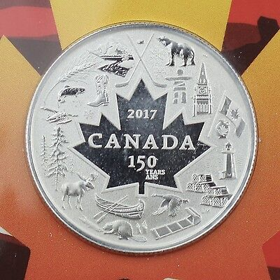 Canada 2017 $3 Heart of Our Nation 1/4 oz. 99.99% Pure Silver Specimen Coin