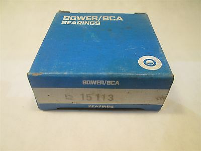 Bower Tapered Roller Bearing Cone 15113