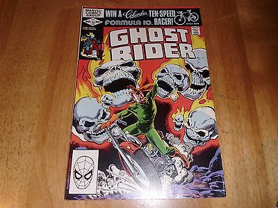 Marvel Ghost Rider #65 Vol 1 Comic February 1982