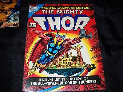 LOT OF 2 THE MIGHTY THOR MARVEL TREASURY EDITIONS 3 And 10