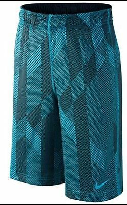 NWT Nike Boy's Dri-Fit Fly Allover Print Graphhic Training Shorts Size S M