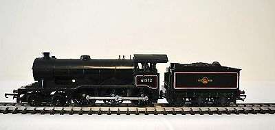 """Hornby Triang R150 """"B.12 Class"""" Black Version 61572 4-6-0 and R39 tender."""