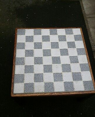 Coffee/chess Table For Restoration