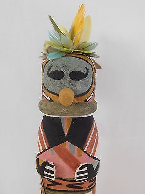 "Rare Old Style Hopi Indian ""tsi-To-To"" Kachina By Award Winning Brian Holmes"