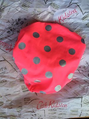 Genuine CATH KIDSTON Bicycle Bike Pink and Grey Waterproof Seat Saddle Cover NEW