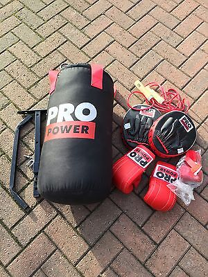 Boxing Bag And Accessories