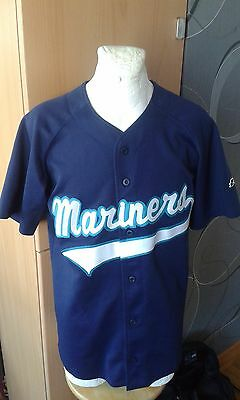 Ssk Czech Republic Seattle Mariners Baseball Mls Vintage Shirt Jersey Rare