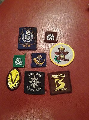 Selection Of Brownie Badges