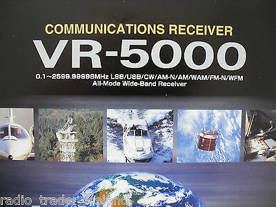 Yaesu Vr-5000 (Genuine Brochure Only)............radio_Trader_Ireland.