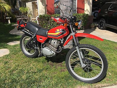 1979 Honda XL250S  XL 250 S Honda 1979 Ridden and Signed by Preston Petty Mr. Fender and Engineer.