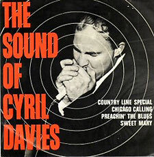 Sound of Cyril Davies & His Rhythm & Blues All Stars 1964 EP.  Extremely rare.
