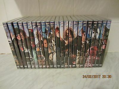 doctor who dvd files job lot (new & sealed)