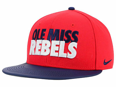 watch 75d68 2cb56 ... coupon for mississippi ole miss rebels nike ncaa mens adjustable snapback  cap hat 825de b92bc