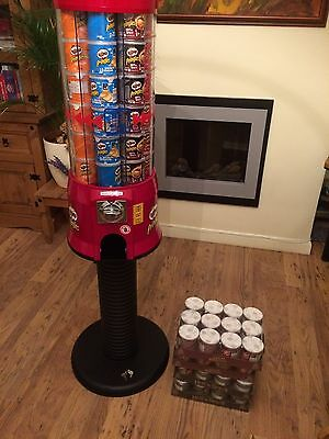 Clenport M42 Pringles Vending Machine With Stander And Stock