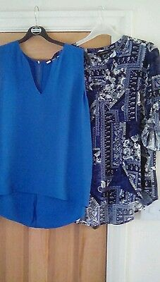 Bundle Of 2 Ladies Tops Size 14