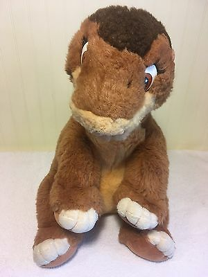 "The Land Before Time Littlefoot Plush Stuffed Toy Dinosaur Large 16"" A"