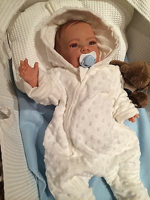 Realistic Reborn celia Baby Doll, Boy or girl with eyes open request your order