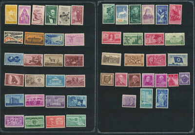 50 Different Mint NH US Vintage Commemoratives Stamp Collection Great Gift Idea