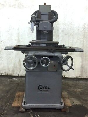 Covel 6 X 18 Surface Grinder, S/n 10-1238