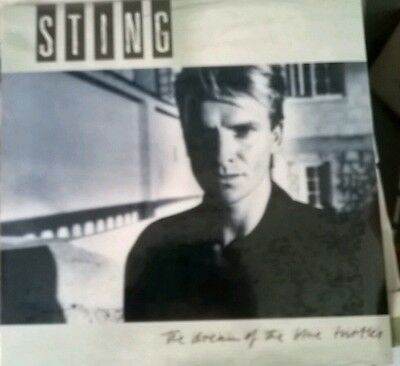 "STING "" THE DREAM OF THE BLUE TURTLES "" LP  ITALY disco vinile 33 raro"