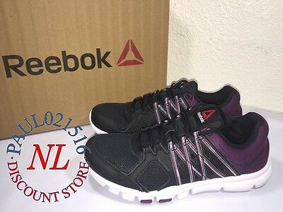 Reebok Women's Yourflex Trainette 8.0 Sneaker Memory Tech Training Shoes ! !