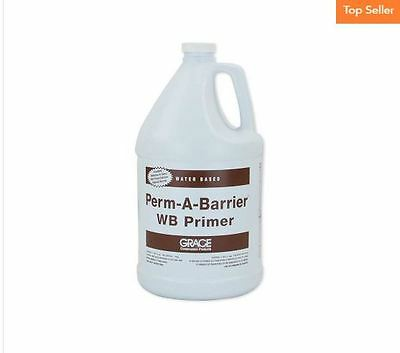 GRACE Perm-A-Barrier W.B. Primer 1 Gallon Excellent Adhesion Low Odor Water Base
