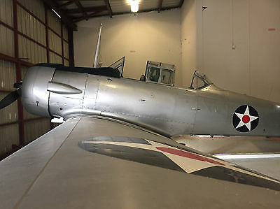 1941 Vintage WWII Warbird AT-6 | Single Engine Airplane Fly Ready | FRESH ANNUAL