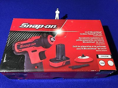 Snap On 14.4v Cordless MicroLithium Polisher / Prep Tool Battery CTPPEU761WB NEW