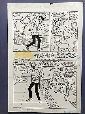 Archie and the Gang, #?? Apr.1991, Splash page, Bolling original art. *SALE*