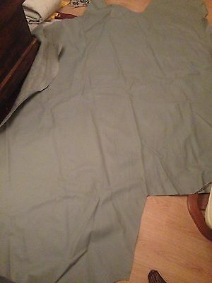 Leather Hide Connolly Battleship Grey Trimming Upholstery Automotive