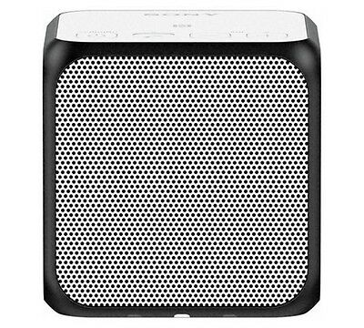 Sony SRS-X11 Compact Portable Wireless Speaker with Bluetooth/NFC White