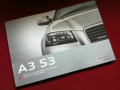 Audi A3 S3 Brochure 2011 - 136 Pages! - French Language
