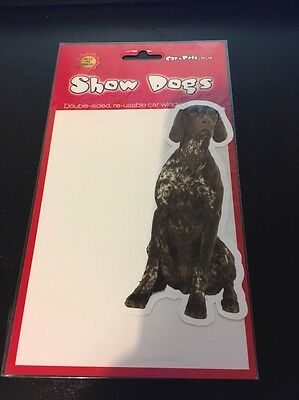 Dog Breed Car Window Stickers - German Shorthaired Pointer