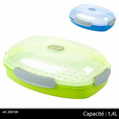 Microwave Steamer with Removable Steamer Basket 1.4L(200108)