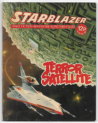 Starblazer 10 (1979) high grade copy - Jaimie Ortiz artwork