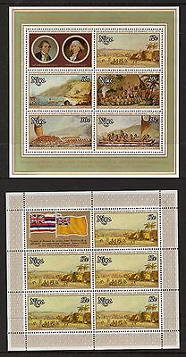 1978,Niue,Bicent of Discovery of Hawaii,Set of 6,SGMS235-240,CV$51+,MUH,#1735