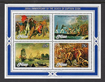 1979 Niue, Pacific,200th Ann. of the death of Capt Cook,SGMS299,CV$6+,MUH,#1743