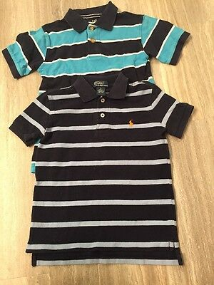 Polo Ralph Lauren And TCP  Boys Size 5 Polo Shirts Lot Of 2