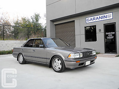 1990 Toyota Other Royal Saloon Supercharged VIP Zauber 3 Piece Rims  1990 Toyota Crown Jubilee Edition GS131 Super Nice 46k Miles RHD Rare & Clean