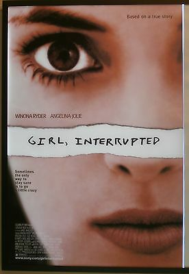 Girl, Interrupted Movie Poster 1999 USA One Sheet, Original