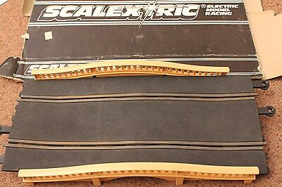 Boxed Scalextric Classic Hump Back Bridge C248 Working Condition