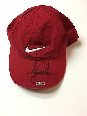 Tiger Woods Signed Nike Toddlers Cap