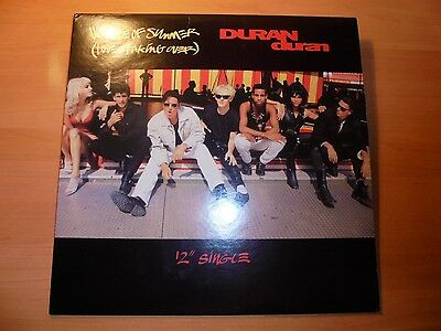 "DURAN DURAN  12 ""  Rare Maxi VIOLENCE OF SUMMER remixes  5 tracks 1990   / 17"