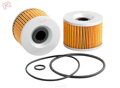 KAWASAKI MOTORCYCLE OIL FILTER - Various Models incl Ninja,KZ,ZX - RYCO (RMC128)