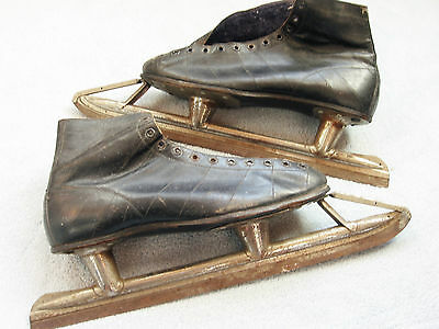Canadian Vintage 75 year old Speed Ice Skates CCM Weston Canada circa 1940's