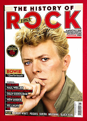 UNCUT The HISTORY OF ROCK - BOOK - 1983 - DAVID BOWIE Ozzy Osbourne