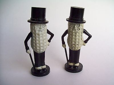 Vintage Planter's Mr. Peanut Salt & Pepper Shakers