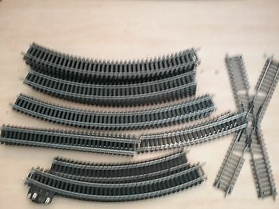 Lima HO OO Model Railway Track x 35 pieces Train track Great condition