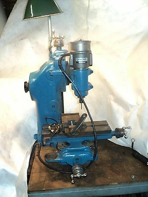 "Precise"" Model U Milling Machine VERICAL & HORIZONTAL MILL  RARE FIND"