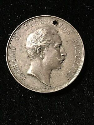 Prussian Silver Shooting Medal